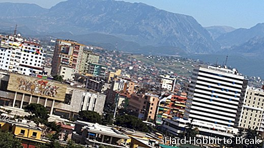 The most important cities in Albania