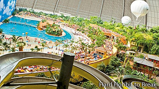 Tropical Islands, a spectacular leisure center in Germany