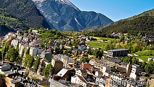 The most important cities of Andorra