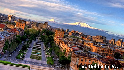The most important cities of Armenia