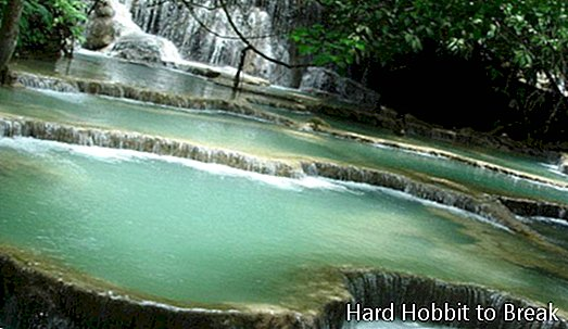 Tat Kuang Si Natural Pools in Laos