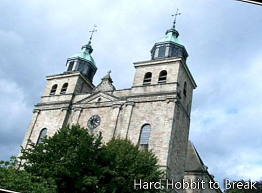 Malmedy Cathedral in Belgium