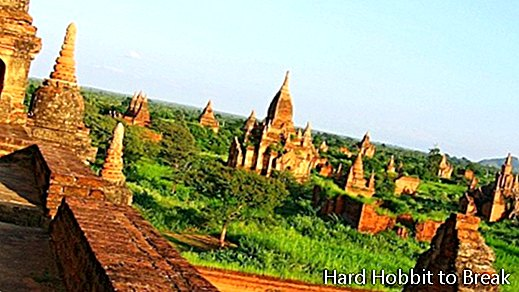 Boeddhistische tempels in de Bagan-vallei