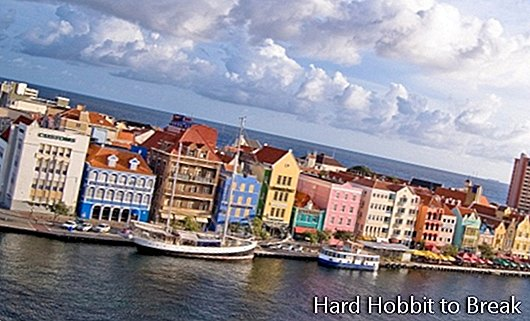 Vacation on Curacao Island in the Caribbean