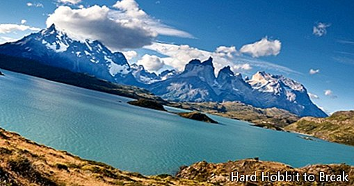 Torres del Paine National Park, a beautiful place in Chile