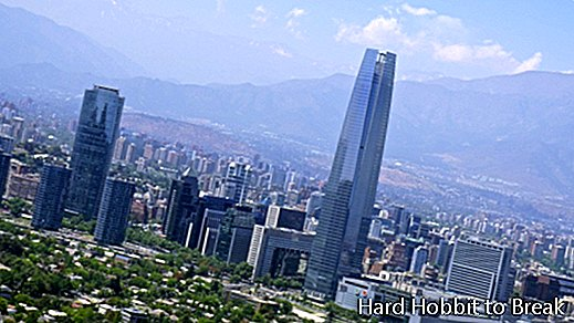 The most important cities in Chile