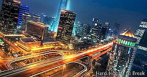 Hiina peamised linnad