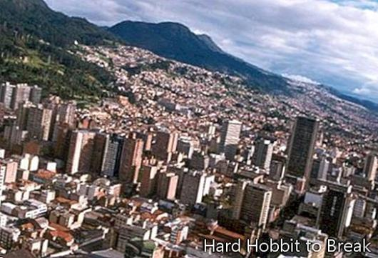 Bogotá, the capital of Colombia