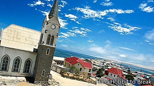 Lüderitz, a small African town that looks German