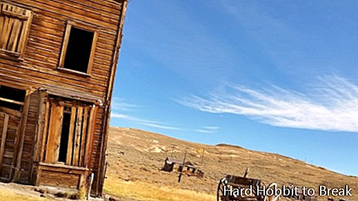 Bodie, the ghost town of the United States