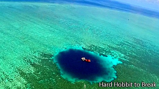 The largest blue hole in the world