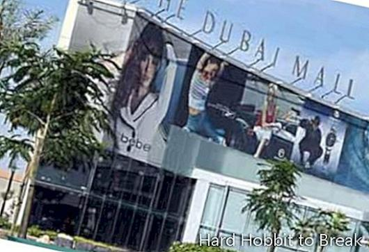 Shopping på Dubai Mall