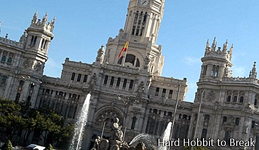 Cibeles Palace i Madrid