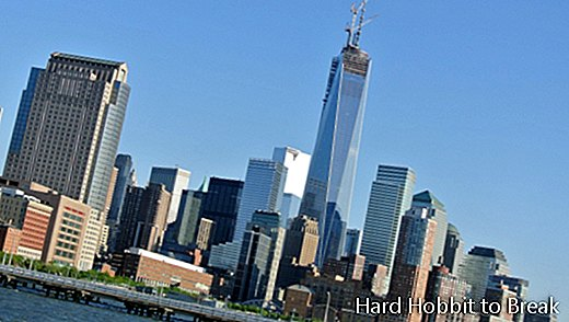 Slik ser New York ut fra One World Trade Center