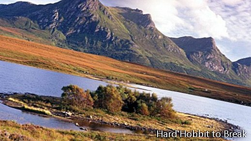 Traveling to Sutherland in Scotland