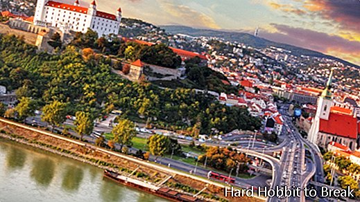 The most important cities in Slovakia