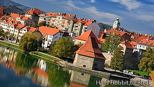 The most important cities in Slovenia