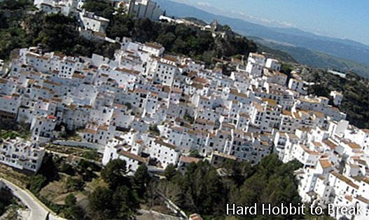 The route of the white villages in Andalusia