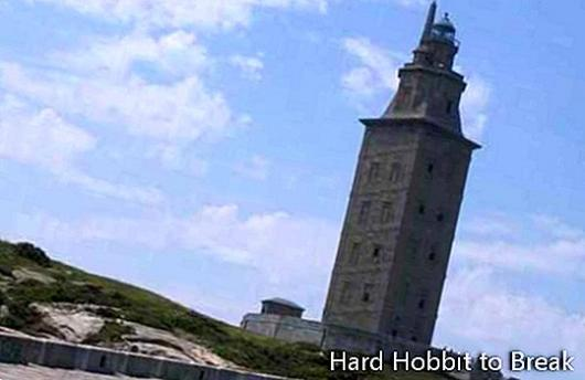 The Tower of Hercules in A Coruña