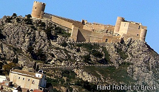The Castalla Castle in Alicante