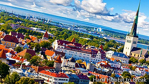 The most important cities in Estonia