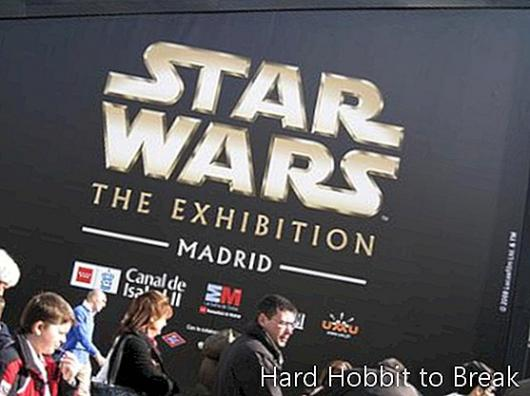 Star Wars exhibition in Madrid