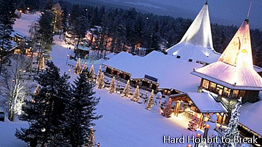 Rovaniemi, the city where Santa Claus keeps gifts