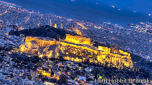 The most important cities in Greece