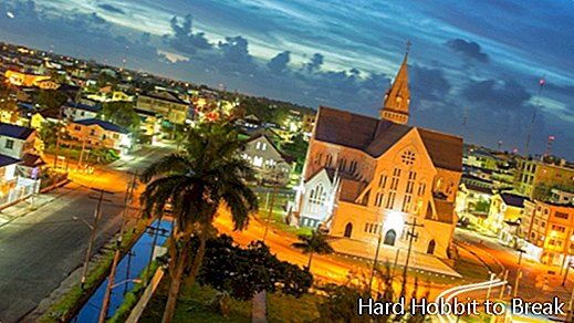 The most important cities of Guyana