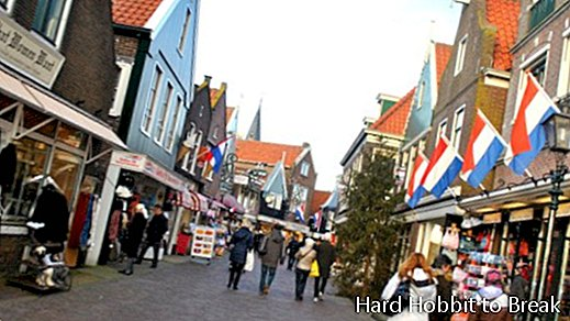 Traveling to Volendam in the Netherlands