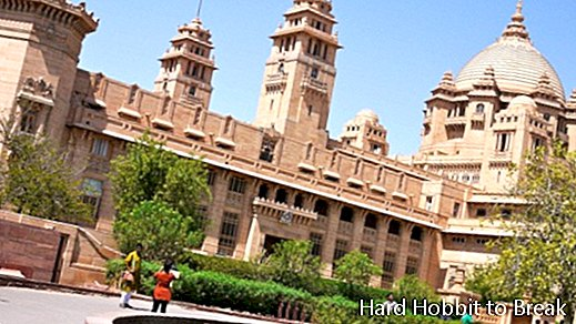 Umaid Bhavan Palace i India