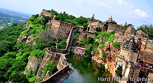 The largest fortress in India
