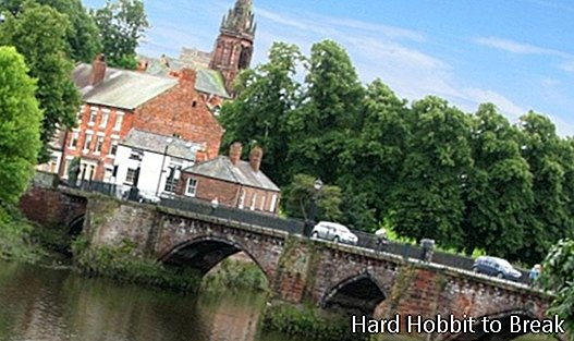 Travel to Chester in England