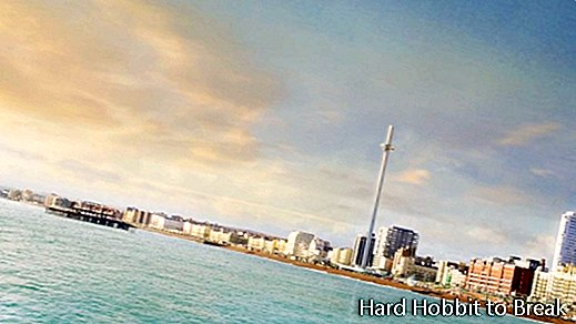 British Airways i360, sudut pandang spektakuler di Brighton