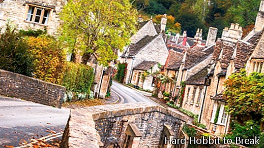 Castle Combe, the most beautiful village in the Cotswolds
