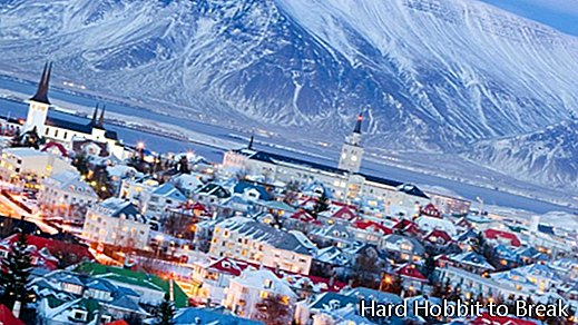 The most important cities in Iceland