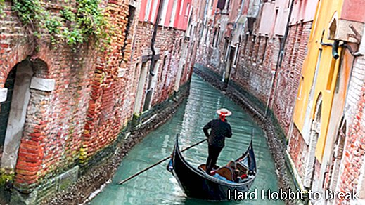 The beauty of Venice in the calm of winter