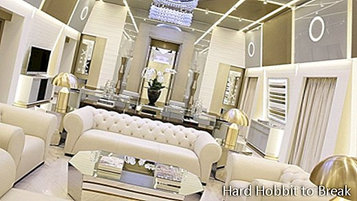 The most luxurious suite in the world, at the Excelsior Hotel Gallia in Milan