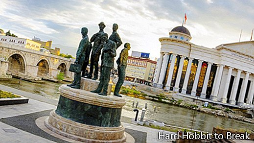 The most important cities in Macedonia