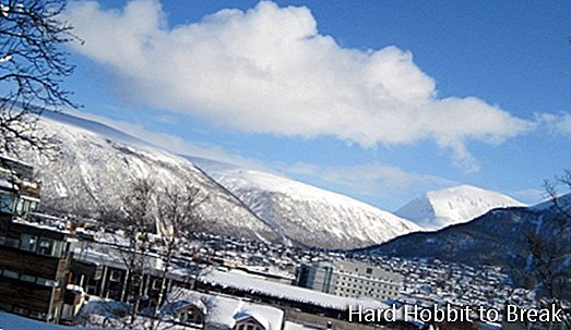 Traveling to Tromso in Norway