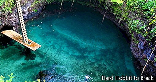 To Sua Ocean Trench, a natural dream pool