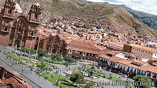 The most important cities of Peru