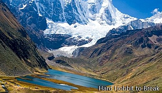 The impressive Huayhuash mountain range