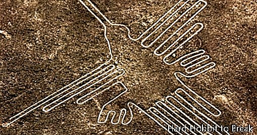 The enigmatic lines of Nazca in Peru