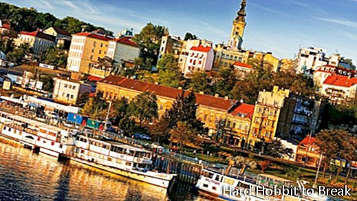The most important cities in Serbia