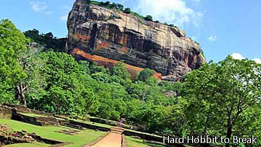 Sigiriya, a spectacular archaeological site in Sri Lanka