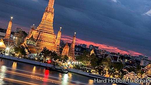 The most important cities in Thailand