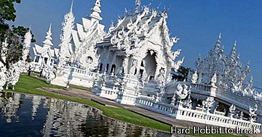 Wat Rong Khun, the most original temple in the world