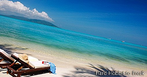 The most touristic islands in Thailand