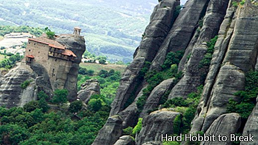 Spectacular monasteries on cliffs
